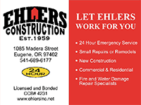 Ehlers Construction Inc.